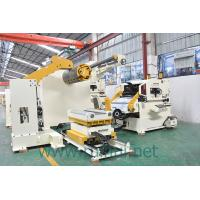 Buy cheap 7T Automatic 3 In 1  Coil Feeder Straightener   With  Human - Machine Control from wholesalers