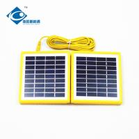 China 4 W 9V portable solar charger for electric bike solar charger ZW-4W-9V foldable solar panel photovoltaic for MP3 wholesale