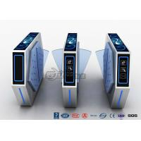 China 2 Lanes Flap Barrier Turnstile With Ticket Manament System With Light In Cinema wholesale
