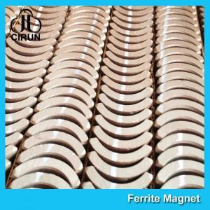 China Custom Industrial Ceramic Ferrite Magnets Arc Shaped Y25 Y30 Y30BH Y35 Grade wholesale