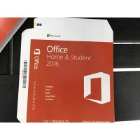 China MS Office 2016 Home And Student Key Card , Microsoft Office 2016 Product Key Full Version wholesale