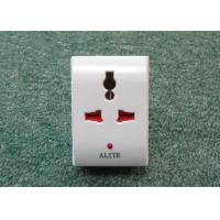 Quality European standard Two round pins electric sockets 16A 220V Multi socket adaptor for sale