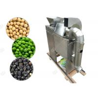 China Dry Type Nuts Roasting Machine Soybean Green Peas Peeling And Splitting Machine on sale