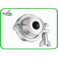 China Pharmaceutical Sanitary Stainless Steel Check Valve With Acid And Corrosion Resistance wholesale