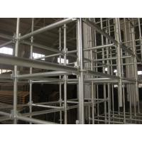 China hot galvanized steel Round  ring lock scaffolding system for tunnel, building construction on sale