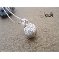 China 100% 925 sterling silver gemstone pendant with zircon W-VB813 with competitive price wholesale