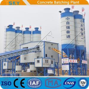 China 2x55KW HZS180 Ready Mixed Concrete Batching Plant wholesale