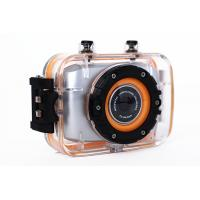 China Waterproof Mini Action Video Cameras / Outdoor Sports Photography Camera 2 Inch Touch Screen wholesale