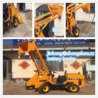 Buy cheap Alibaba New Mini 4 wheel shovel loaders / battery mini electric loader with CE from wholesalers