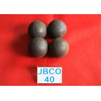 China Wear-resistant Grinding Media Steel Balls B2 D40mm Steel Ball for Copper Mine Dressing Plant wholesale
