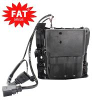 China 97035815110  97035815109 Air Ride Suspension Compressor With Bracket / Air Shock Pump wholesale