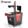 China Stainless Steel Portable Desktop Laser Engraving Machine 20 Watt Compact Model wholesale