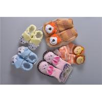 China Knitted Slip Resistant Cotton Baby Socks For Keep Warm Custom Made Size wholesale