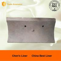 China Good Wear Resistance Ball Mill Liner Plate / Steel Liners for AG Mills and SAG Mills wholesale