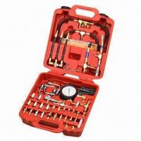 China Gasoline Engine Injecting Pressure Tester Set for Automotive/Motorcycle Repair Tools wholesale