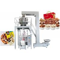 China High Efficiency Food Packing Machine For Jelly Drop Back Central Seal Of 1kg , 2kg Bags on sale