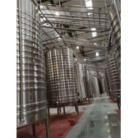 China Professional Beer Fermentation Tanks 30hl Ss304 Material With Free Design Drawing wholesale