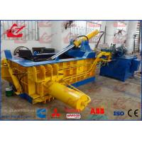 China Aluminum Profiles Light Metal Baler Press High Capacity Y83-125 Model 18.5kW For Metal Recycling Plant wholesale