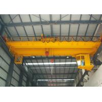 China Customized Double Girder EOT Crane With Heavy Duty Open Winch Trolley Hoist wholesale
