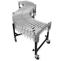 Buy cheap Automatic Multi Fire Resistant Telescopic Flexible Roller Conveyor from wholesalers