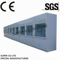China Poly Ducted Laboratory Chemical Fume Hood / Cupboard with PP Cup Sink for testing, lab use wholesale