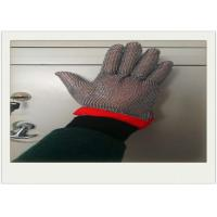China Five Fingers Stainless Steel Gloves With Cut Resistant For Cooking wholesale