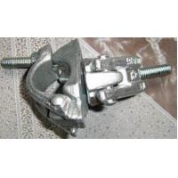 China Metal Scaffolding Frames Hot Zinc Dipping Forged Swivel Clamps / Forged Double Clamps on sale