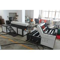 China Horizontal Type Plastic Rope Making Machine 65mm / 85mm / 95mm Screw Diameter wholesale