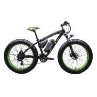 China Snow 26''-4.0 Tire Mountain Electric Bike Rear Motor 48V 500W SHIMANO 21 Speed wholesale