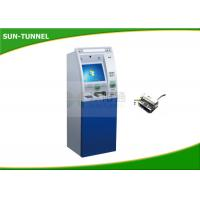 China Free Standing Retail Mall Self Service Kiosk Barcode / Receipt / Coupon / QR Code Use wholesale