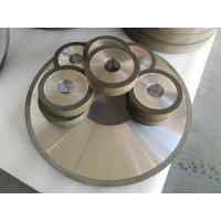 China PCD Resin Bonded Diamond Grinding Wheels For Edge Grinding Machine High Precision wholesale