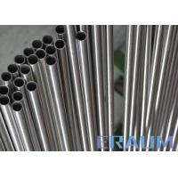 China ASTM B622 Seamless Nickel Alloy Tubing Cold Drawn 3.18mm - 101.6mm Outer Diameter wholesale