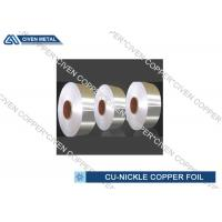 China Copper Nickel Alloy Foils For Sea Water System Components Resistant wholesale