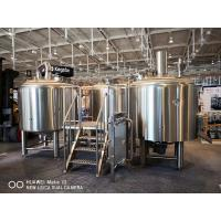 Quality 10BBL Brewhouse Large Scale Brewing Equipment Semi Auto Control Panel for sale