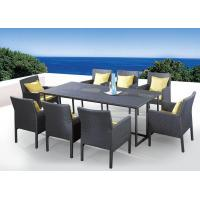 China Outdoor furniture wicker dinning table--9067 wholesale