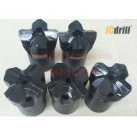 China 7° Tungsten Carbide cross Rock Drill Bits for Quarry / Mining Drilling 27 - 76 mm wholesale