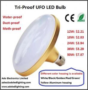 China Tri-Proof UFO LED Bulb CRI80 36w 28w 18w UFO LED Lamp Flying Saucer Lamp wholesale