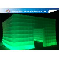 China Customize Nigh Square Inflatable LED Light Tent With 3 Years Warranty wholesale