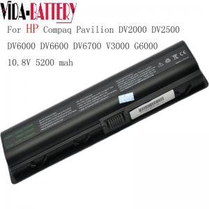 China Replacement Laptop Battery for HP DV2000 DV2500 DV6000 DV6600 DV6700 wholesale