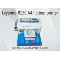 China A4 Small Format UV Flatbed Printer Space Saving For Cell Phone Case Printing wholesale