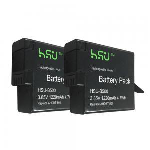 China Replacement GoPro Batteries AHDBT - 501 / GoPro Hero5 Battery 1220 mAh Power wholesale