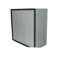 China Washable Cleanroom HEPA Air Filter for Filtration System , Anodized Aluminum Frame wholesale