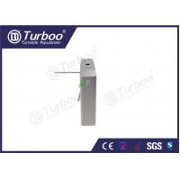 China Smart Waist High Turnstile Provided Automatically Card Collection Function wholesale