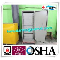 China Metal Moisture Proof  Fireproof Locking File Cabinet Vertical Multi Drawers wholesale