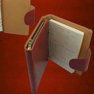 China Custom Letter Size Business Portfolio Leather Organizer, A4 Size Excutive Document Genuine on sale
