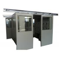 Quality ISO 7 Energy Efficient Stainless Steel Air Shower Room With Automatic Slid Door for sale