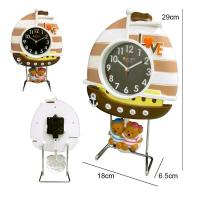 China sailing boat shape alarm clock for kids wholesale