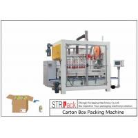 China High Speed Bottle Carton Packing Machine Servo Control For Bottle Filling Line wholesale