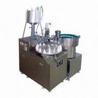 Buy cheap Filling and Screw-cap Machine with Rated Voltage of 220V AC from wholesalers