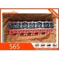 China Mitsubishi Forklift Engine Parts Cylinder Head For S6S 32B01-01011 32B0101011 wholesale